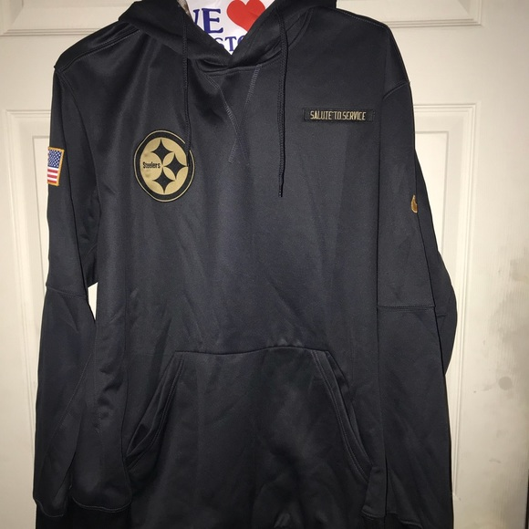 promo code 93232 1739a Pittsburgh Steeler salute to service sweater .